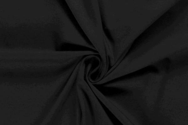 Tricot katoen zwart