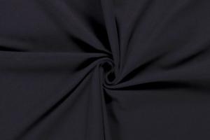 Tricot katoen stof donkerblauw