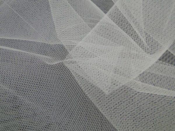 Bruidstule stof off white
