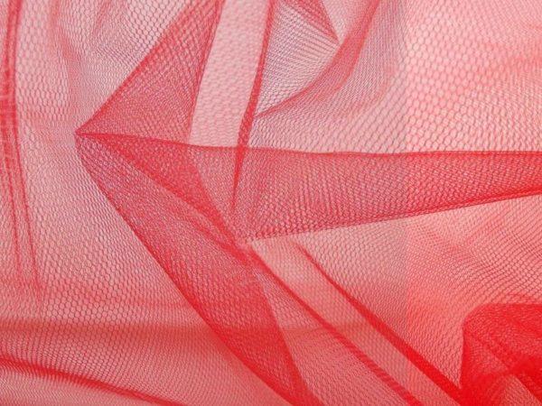 Bruidstule stof rood