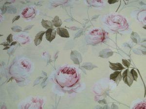 Decoratie stof roomgeel