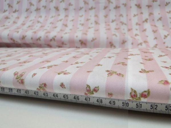 Decoratie stof W755 katoen roze