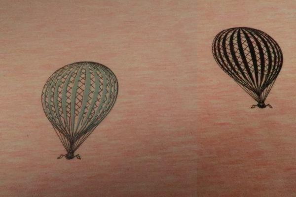 luchtballonnen print