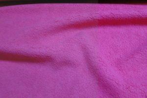 Katoen fleece stof