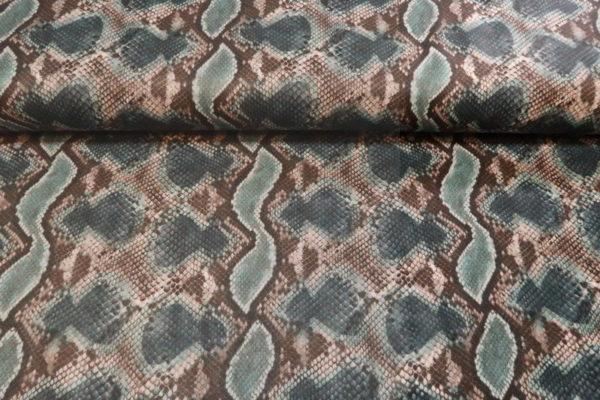 Leatherlook stof