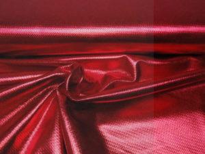 Metallic stretch stof