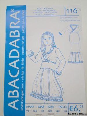 SALE!! Patroon 116 Abacadabra