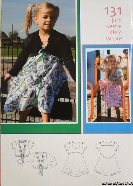 SALE!! Patroon Abacadabra 131 jurk en vestje