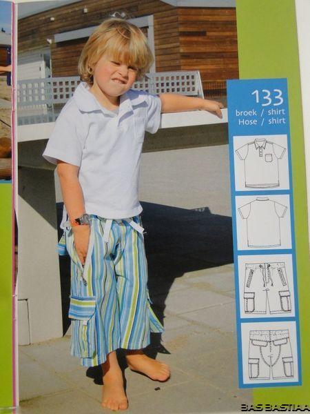 SALE!! Patroon Abacadabra 133 broek en shirt