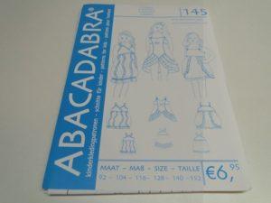 SALE!! Patroon Abacadabra 145 jurkjes