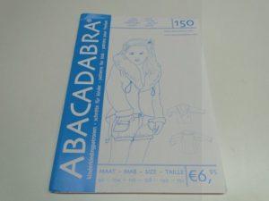 SALE!! Patroon Abacadabra 150 jas/vest meisje