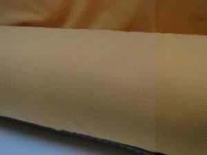 Stof Z550 piquet tricot oranje/geel