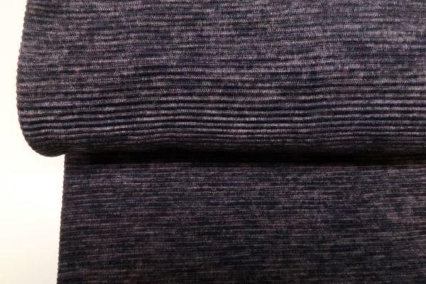 Jersey stof, rib.