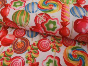 Carnaval texture stof