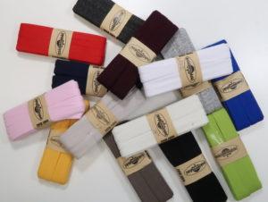 Tricot biaisband - 14 kleuren