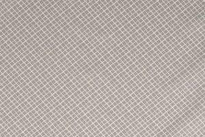 Poplin katoen stof, ruit print, grijs/wit.
