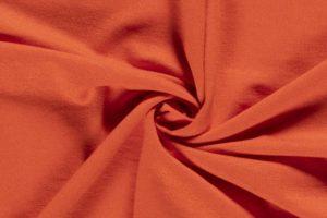 Tricot viscose oranje