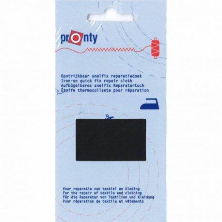 pronty-reparatiedoek-snelfix-opstrijkbaar-zwart
