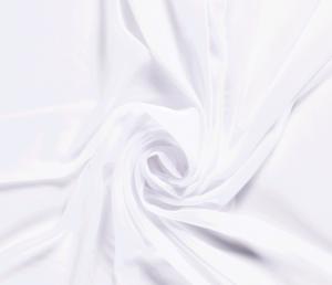 Voile, chiffon stof , wit . VC050